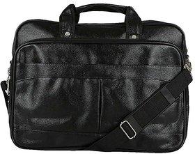 Knott Black Laptop Messenger Bag