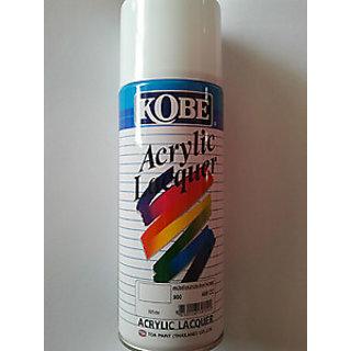 Kobe Spray Paint for Car Bike Metal Wall 400ml-White