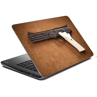 meSleep Gun Laptop Skin