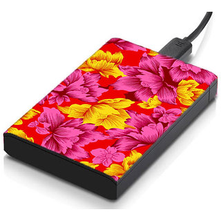 meSleep Multi colored Leaves Hard Drive Skin