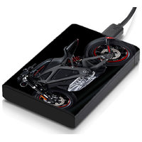 MeSleep Hyper Bike Hard Drive Skin