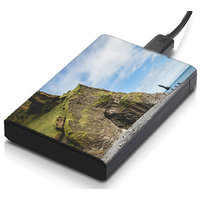 MeSleep Hilly Beach Hard Drive Skin