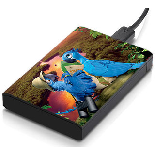 meSleep Animated Birds Hard Drive Skin