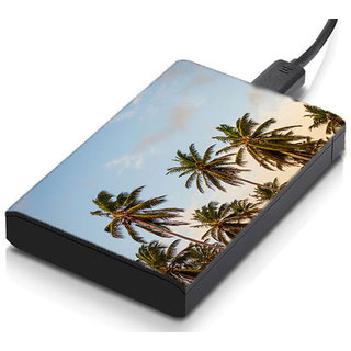 MeSleep Palm Trees Hard Drive Skin