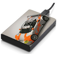 MeSleep Rally Car Hard Drive Skin