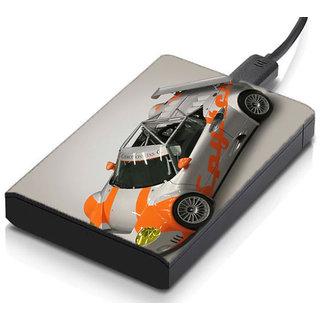 MeSleep Rally Car Hard Drive Skin