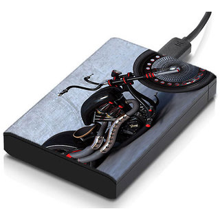 MeSleep Chopper Bike Hard Drive Skin