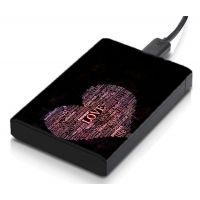 MeSleep Love  Hard Drive Skin