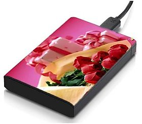 MeSleep Love Rose  Hard Drive Skin