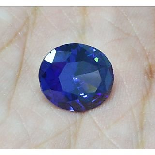 Buy 7ct Blue Tanzanite Cubic Zirconia Cz 11x9mm Oval Cut