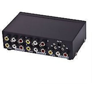 AUDIO VIDEO Composite AMP Splitter