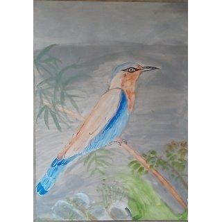 Bird Clasical Painting