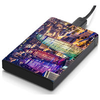 MeSleep City Lights Hard Drive Skin