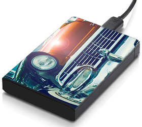 MeSleep Vintage Car Hard Drive Skin