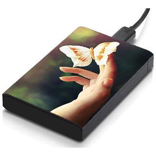 meSleep Hand Butterfly Hard Drive Skin