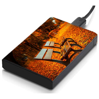 meSleep Autumn Bench Hard Drive Skin