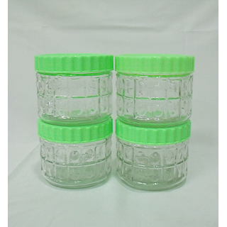 Year Glassware LiteBites Snack Jar - JR475-M21 - (4 pieces,450 ml )