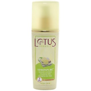 Lotus Herbals Lemonpure Turmeric & Lemon Cleansing Milk 170 ml