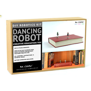 Be Cre8v | Dancing Bot Robotics DIY Kit