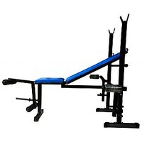 BRANDED FITFLY MULTIPURPOSE 5 IN 1 WEIGHT LIFTING BENCH FOR HOME GYM EXERCISE