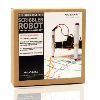 Be Cre8v | Scribbler Bot Robotics Kit