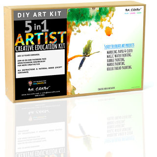 Be Cre8v  Artist 5 in 1 DIY Art Kit