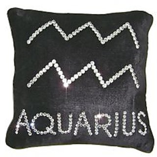 Ultra-Snob Zodiac-Aquarius Cushion Cover