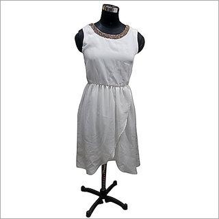 ladies half slave dress (Unstitched)