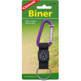 Coghlan's Biner With Compass (Pack Of 2)