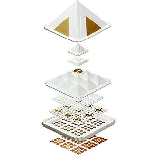 Pyramid Set - White Max - 9