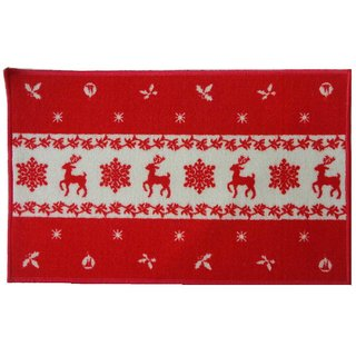 Luk Luck home Multipurpose Red Deer Mat