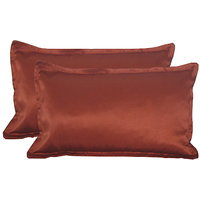 Designer Glace Cotton Pillow Cover (Set Of 2)