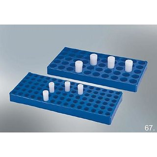 Hoverlabs Rack For Scintillatioin Vial  ( 50 Vials Of 20 Ml Capacity) (Pack Of 2)