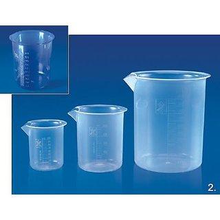 Hoverlabs Beakers Euro Design 50 Ml (Pack Of 12)