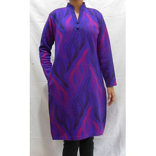 Milestone Woolen Kurti 093Pu Purple