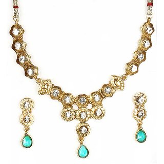 14Fashions Stylist Design Blue Necklace Set - 1100522