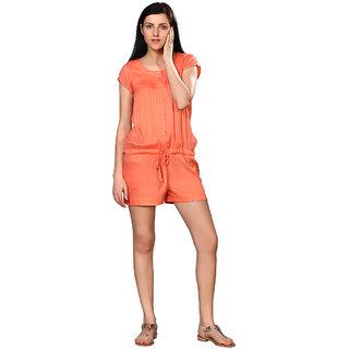 4657ee80ee7 Buy NOSH Orange PIN TUCK JUMPSUIT Online - Get 27% Off