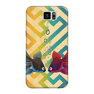 The Fappy Store Underwater Love  Plastic Back Cover For Samsung Galaxy S6 tfpj11101