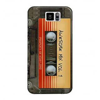 The Fappy Store Awsome Mix Vol 1 Plastic Back Cover For Samsung Galaxy S6 tfpj11070