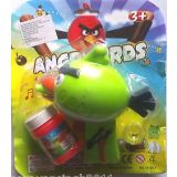 Angry Bird Bubble Gun Toy Bubble Kids Toy Gift Battery Operated Warranty