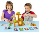 Angry Birds Knock On Wood Table Board Fun Game Warranty