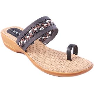 Balujas Black Womens Sandals