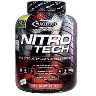 Muscletech Nitrotech Performance Series, 3.97 Lb Strawberry