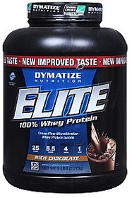 Dymatize Elite Whey Protein, 5 Lb Rich Chocolate