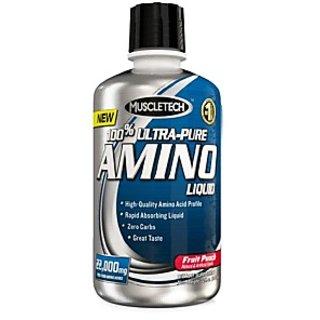 Muscletech Ultra Pure Amino Liquid, 1 L Fruit Punch