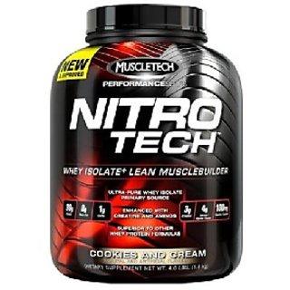 Muscletech Nitrotech Performance Series, 3.97 Lb Cookies  Cream