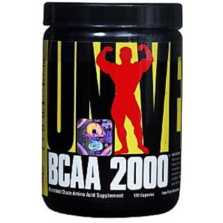 Universal Nutrition Bcaa 2000 120 Capsules Unflavoured