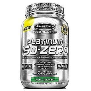 Muscletech Platinum Iso-Zero, 5 Lb Chocolate