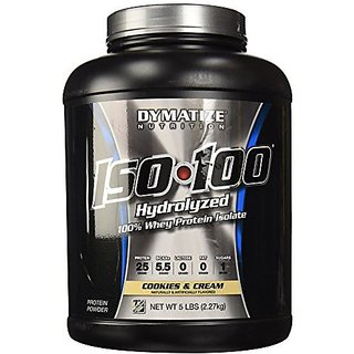 Dymatize Iso-100 Protein 5 Lb Cookies Cream