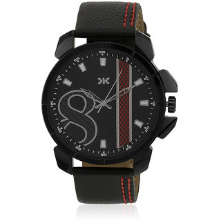 Killer Black Dial Watch For Men KLW5003C